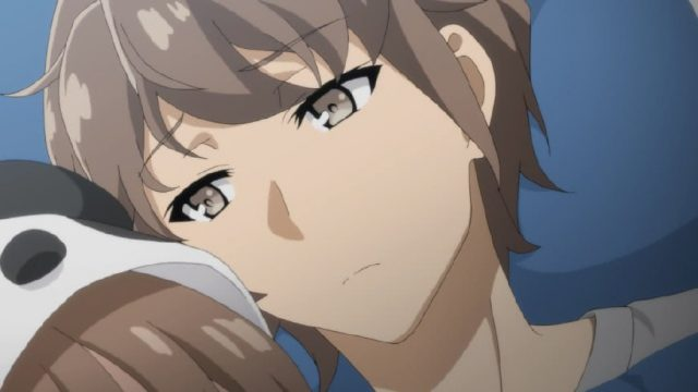 妹がベッドに忍び込んで困惑する梓川咲太