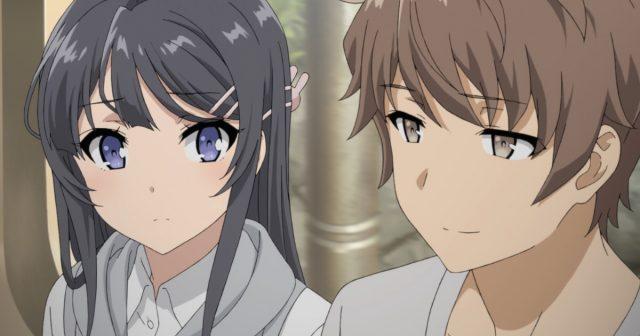 微笑む梓川咲太