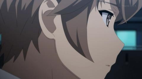 静かに前を見る梓川咲太