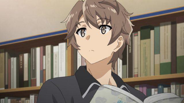 図書館での異変に気づく梓川咲太