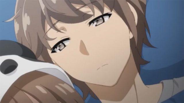 そっと目を覚ます梓川咲太