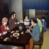 食事を取るアオタケのメンバー