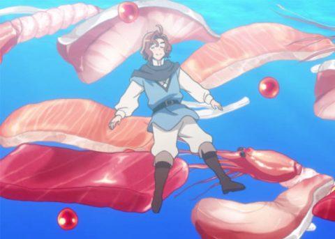生魚の中を漂うイグナーツ