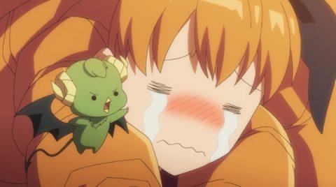 泣いているメリ