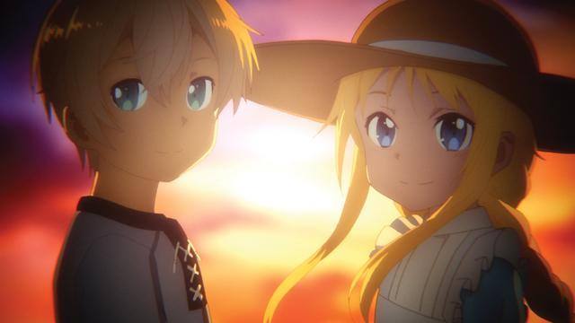 幼いころのユージオとアリス