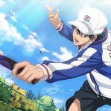 テニスをするリョーマ