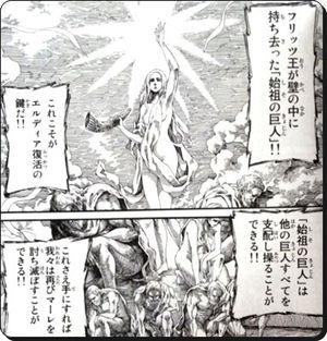始祖の巨人について
