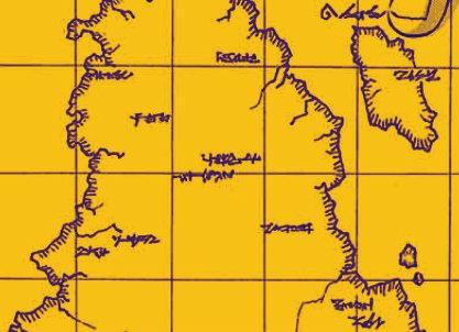 エルディア帝国の地図