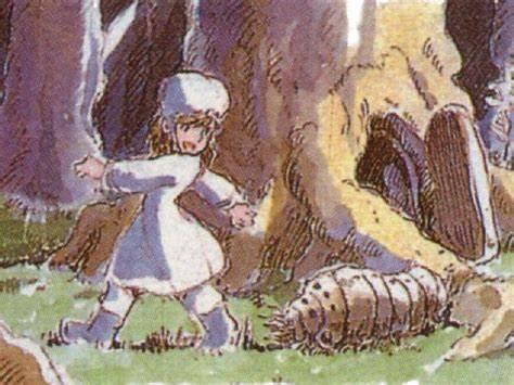 幼少期のナウシカ