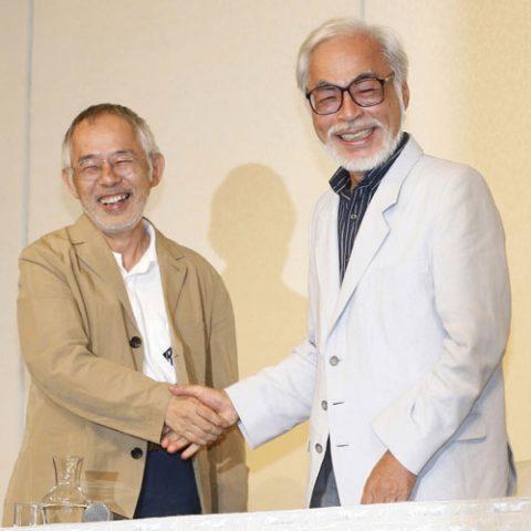宮崎駿と鈴木敏夫