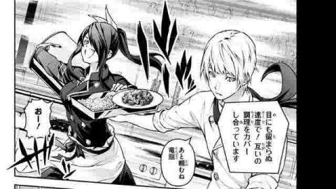 料理をする司と竜胆