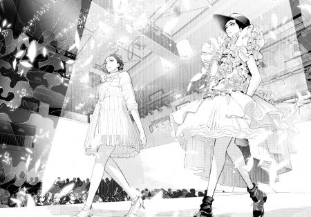 芸華祭での綾野遠のファッションショー
