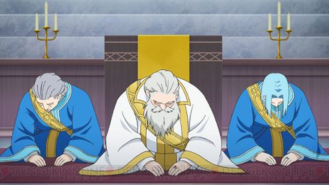 儀式中の神殿長