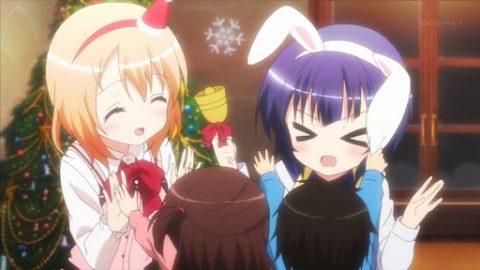 クリスマスシーズンの2人
