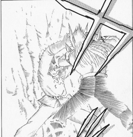 メガンテを唱えるアバン