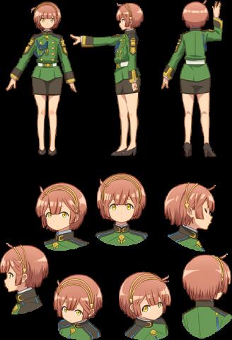 アニメ版コリン