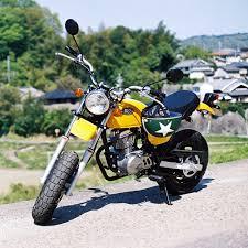 綾乃のバイク