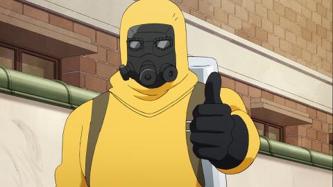 親指を立てる黄色ブドウ球菌