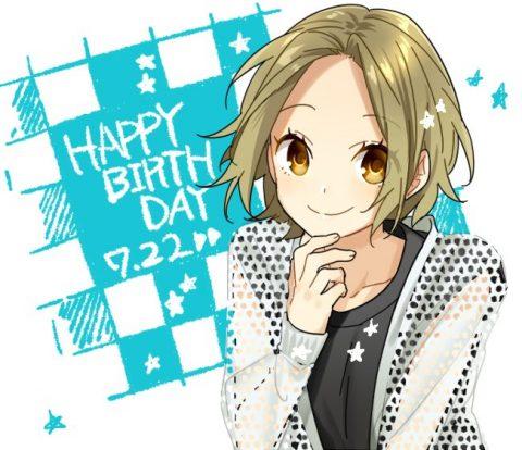 ユキの誕生日絵