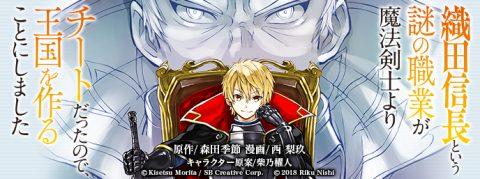織田信長という謎の職業が魔法剣士よりチートだったので、王国を作ることにしましたタイトル