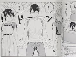 手をつなぐ3人